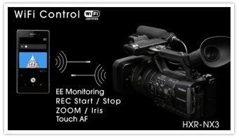 HXR NX3 page wifi Sony HXR NX3/1 NXCAM Professional Handheld Camcorder