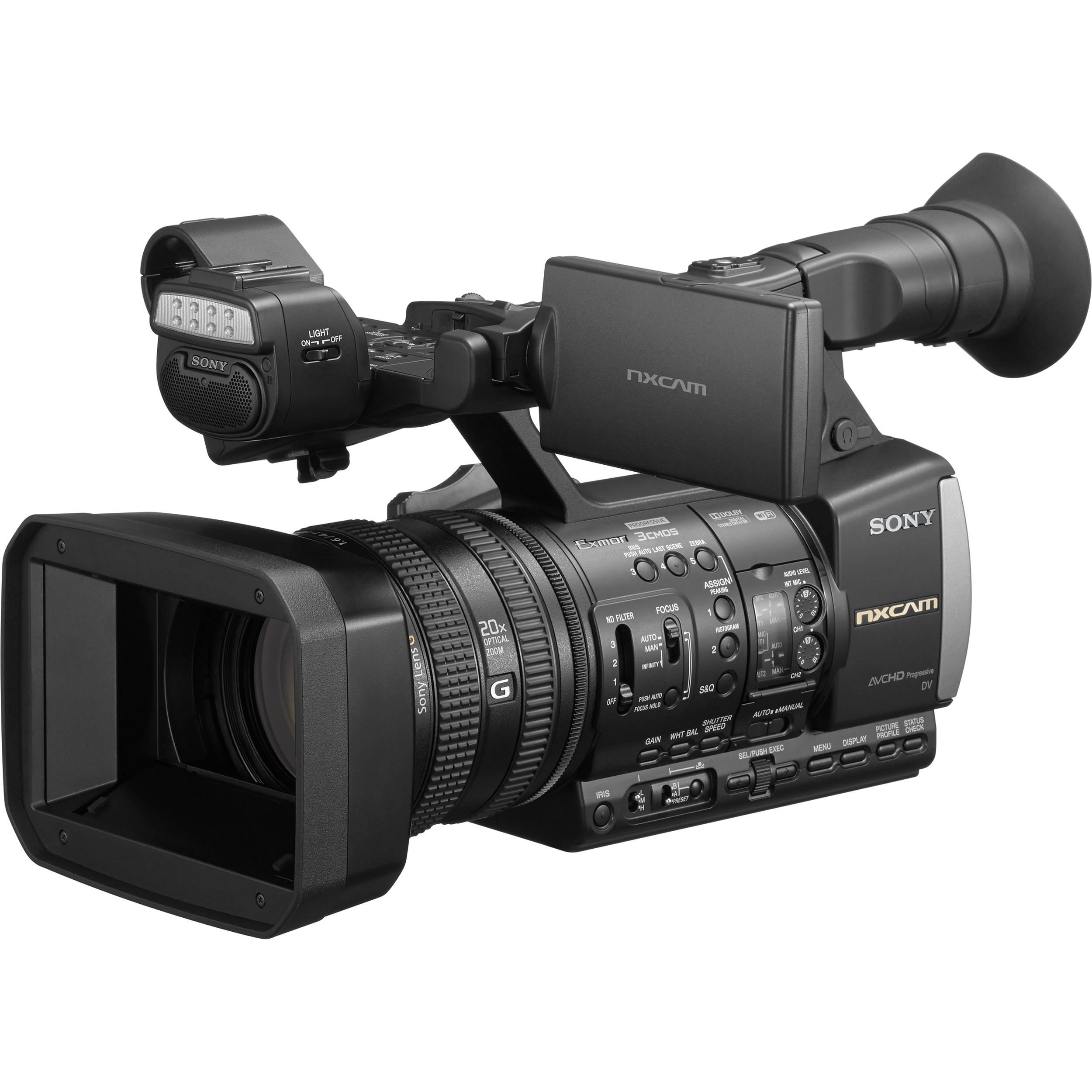 sony hxr nx3 1e hxr nx3 1 nxcam professional handheld 1084879 Sony HXR NX3/1 NXCAM Professional Handheld Camcorder